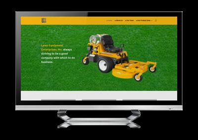 business website design Lee Outdoor Power